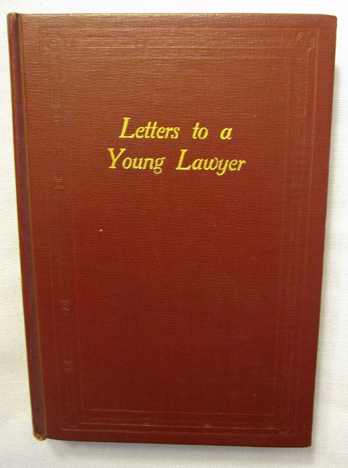 letters to a young lawyer j d pinterest lawyer