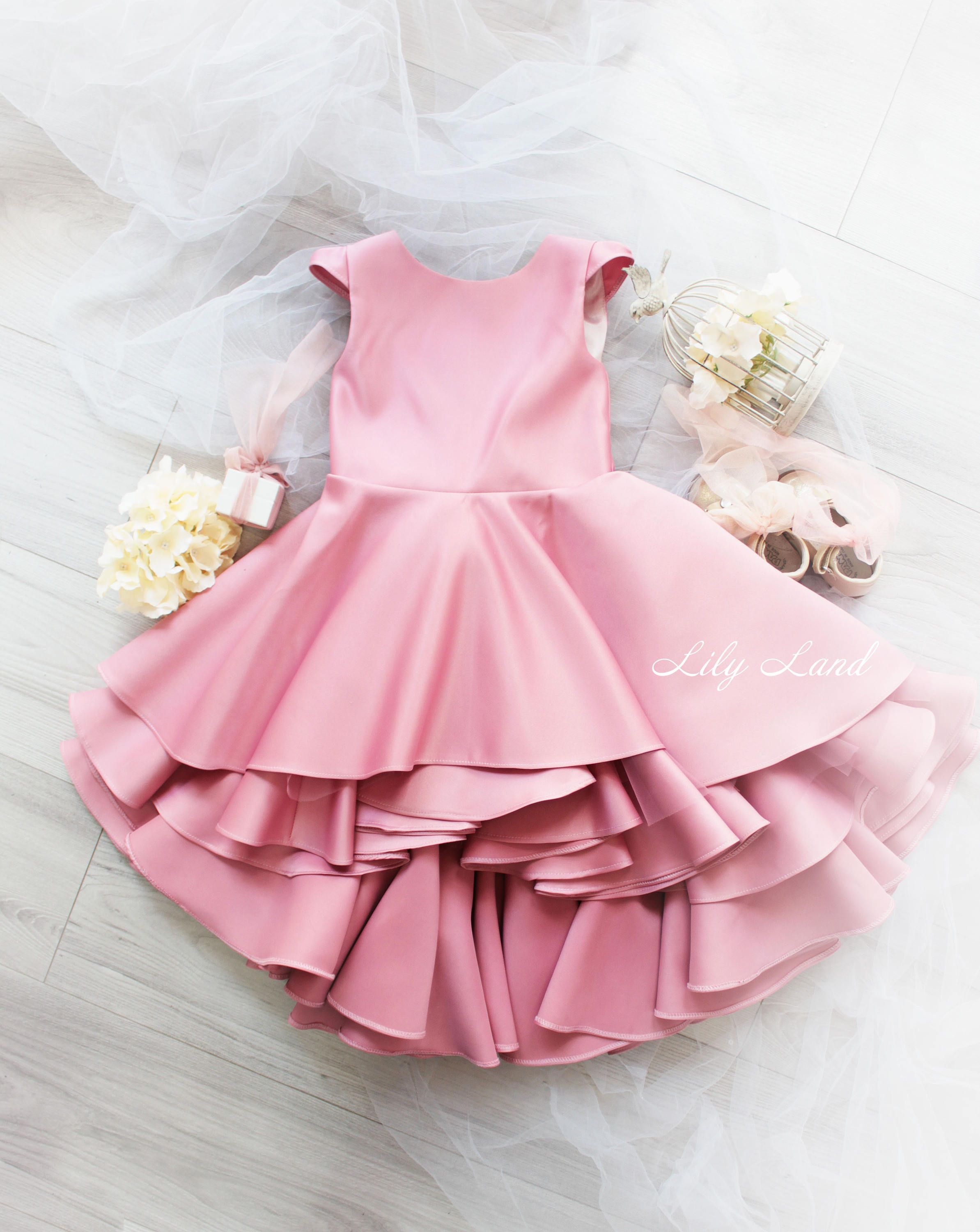 Girls ruffle dress pink girl dress baby girl dress girls size
