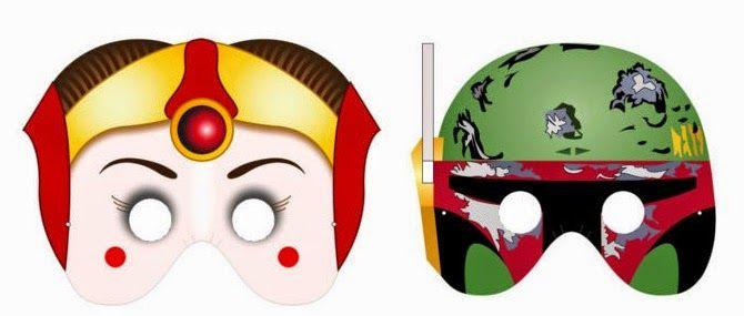 Máscaras de Star Wars para Imprimir Gratis.   STAR WARS   Pinterest ...
