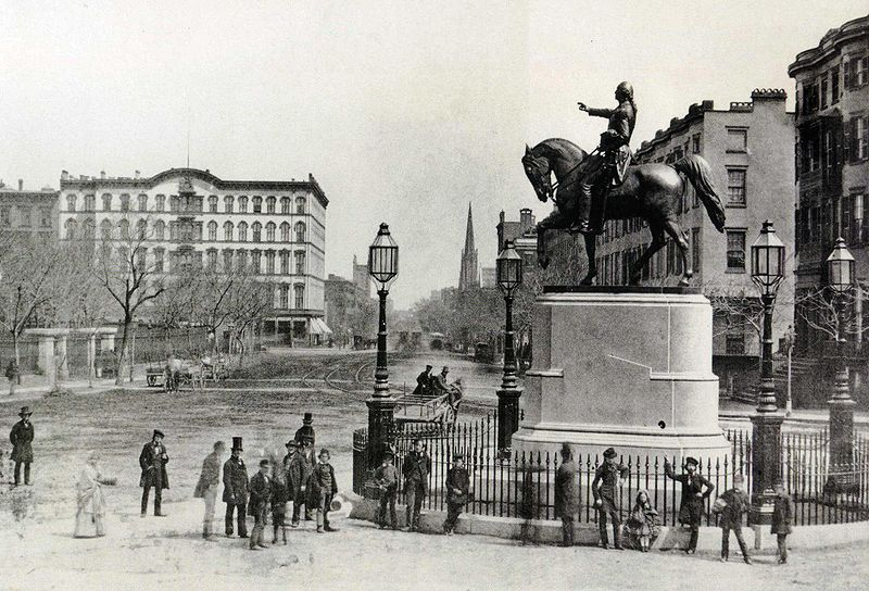 Union Square, Manhattan, New York City c.1870