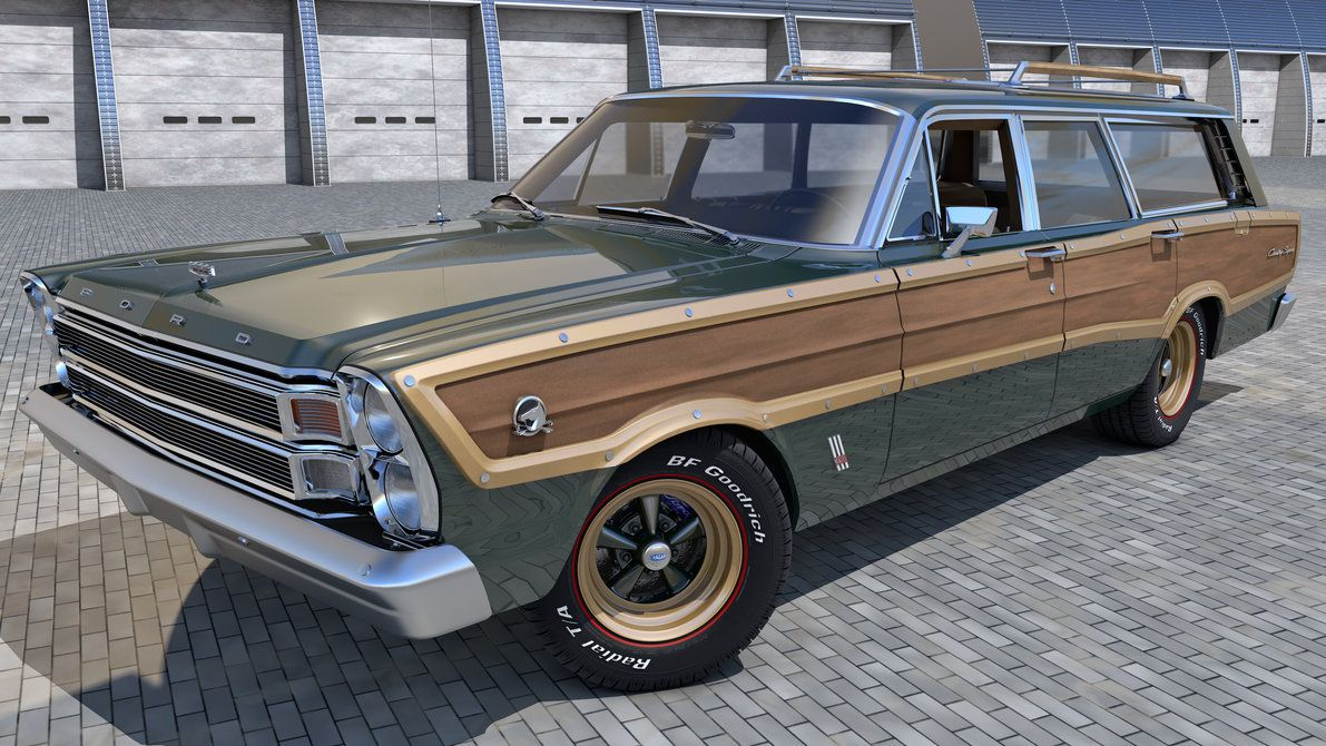 1966 Ford Country Squire by SamCurry on deviantART