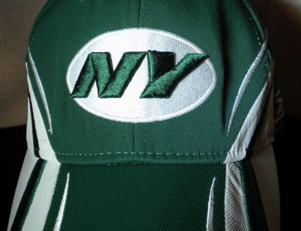 New York Jets Ball Cap Reebok Authentic Sideline Football AFC NFL Team Hat  RBK  Reebok  NewYorkJets d7f063efd