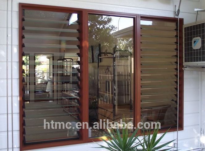Aluminium Frame Jalousie Gl Window With Low Price - Buy ... on