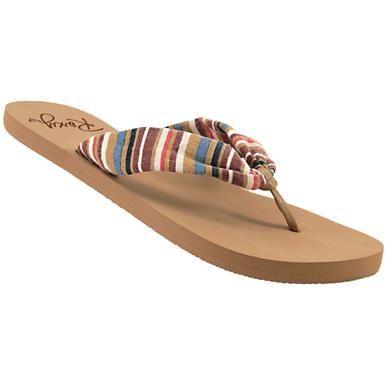 6c3a415e905bd Roxy Paia II Flip Flops - Womens Multi