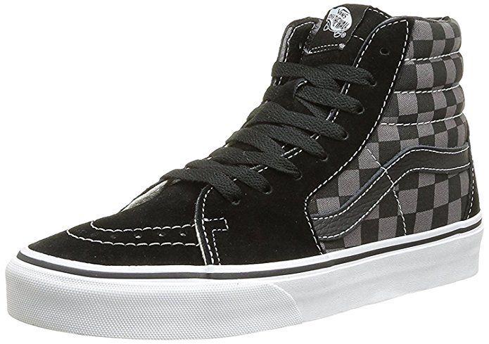 7715123f1c Vans Men s Sk8-Hi Skate Shoe (35 M EU   5.5 B(M) US Women   4 D(M ...