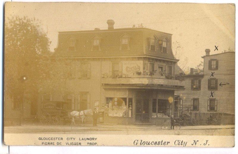 Gloucester City Nj Laundry Around 1910 Gloucester City City
