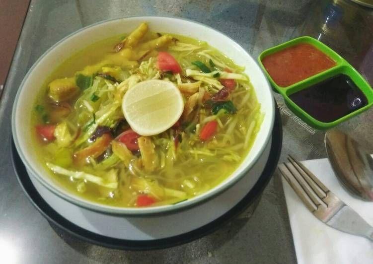 Resep Soto Ayam Bumbu Ungkepan Ayam Kuning Oleh Asma Alfadhilah Resep Masakan Indonesia Resep Masakan
