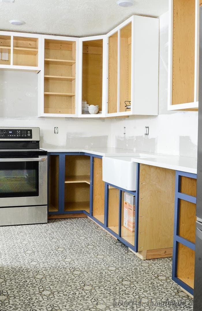 How to Build Base Cabinets   Diy kitchen cabinets build ...