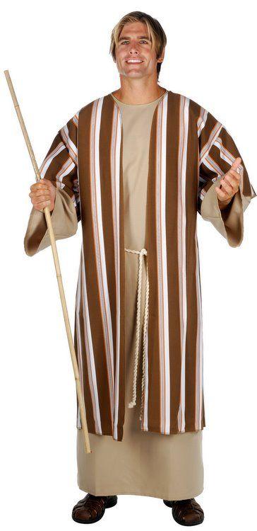 Biblical Shepherd Moses Religious Bible Adult Men Costume