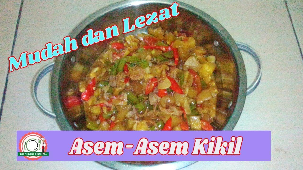 Resep Asem Asem Kikil Buncis Mudah Dan Lezat Resep Resep Masakan Masakan