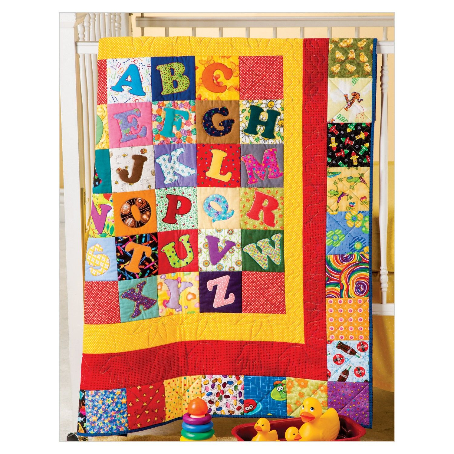 Alphabet Soup Quilt From Go Scrapping With Accuquilt New