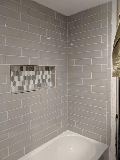 bathrooms remodel grey bathroom tiles