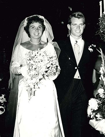 RobertFrancis KennedyandEthelSkakel were married on June 17, 1950 at St. Mary's Catholic Church in Greenwich.