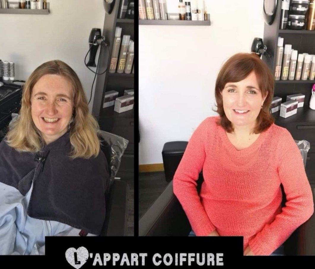 L Appart Coiffure Caen Expert En Relooking Relooking Coiffure Caen