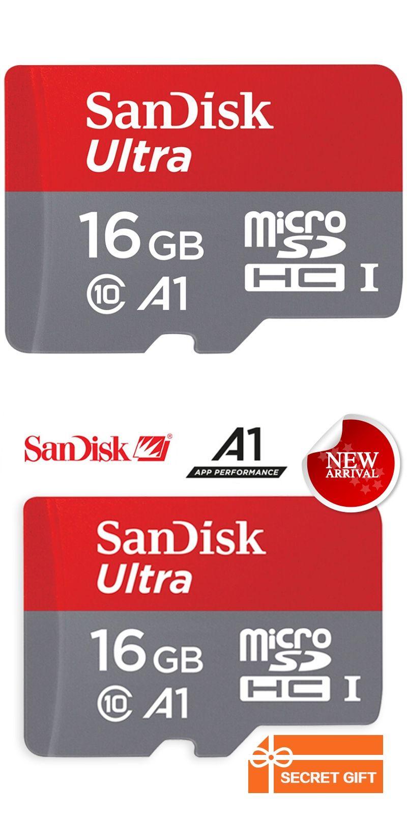 Sandisk Memory Card Ultra Microsdhc Uhs I U1 Trans Flash 16gb 98mb S Sdhc Class 10 1 80mb Class10