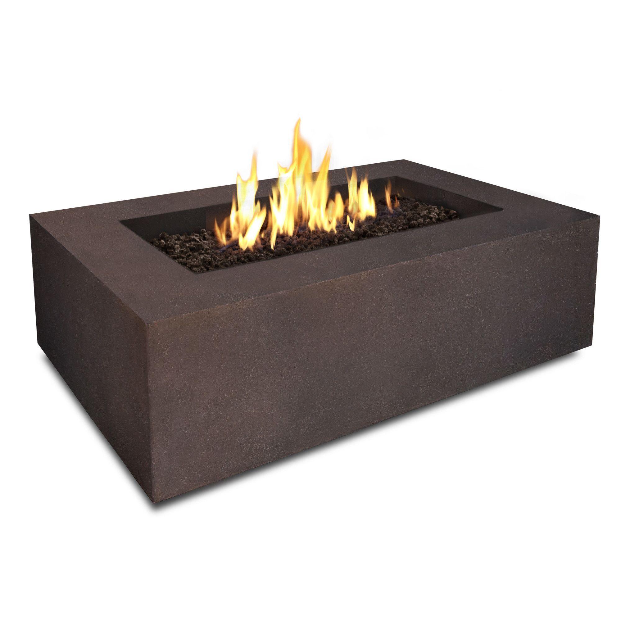 Real flame baltic rectangle propane table u reviews wayfair