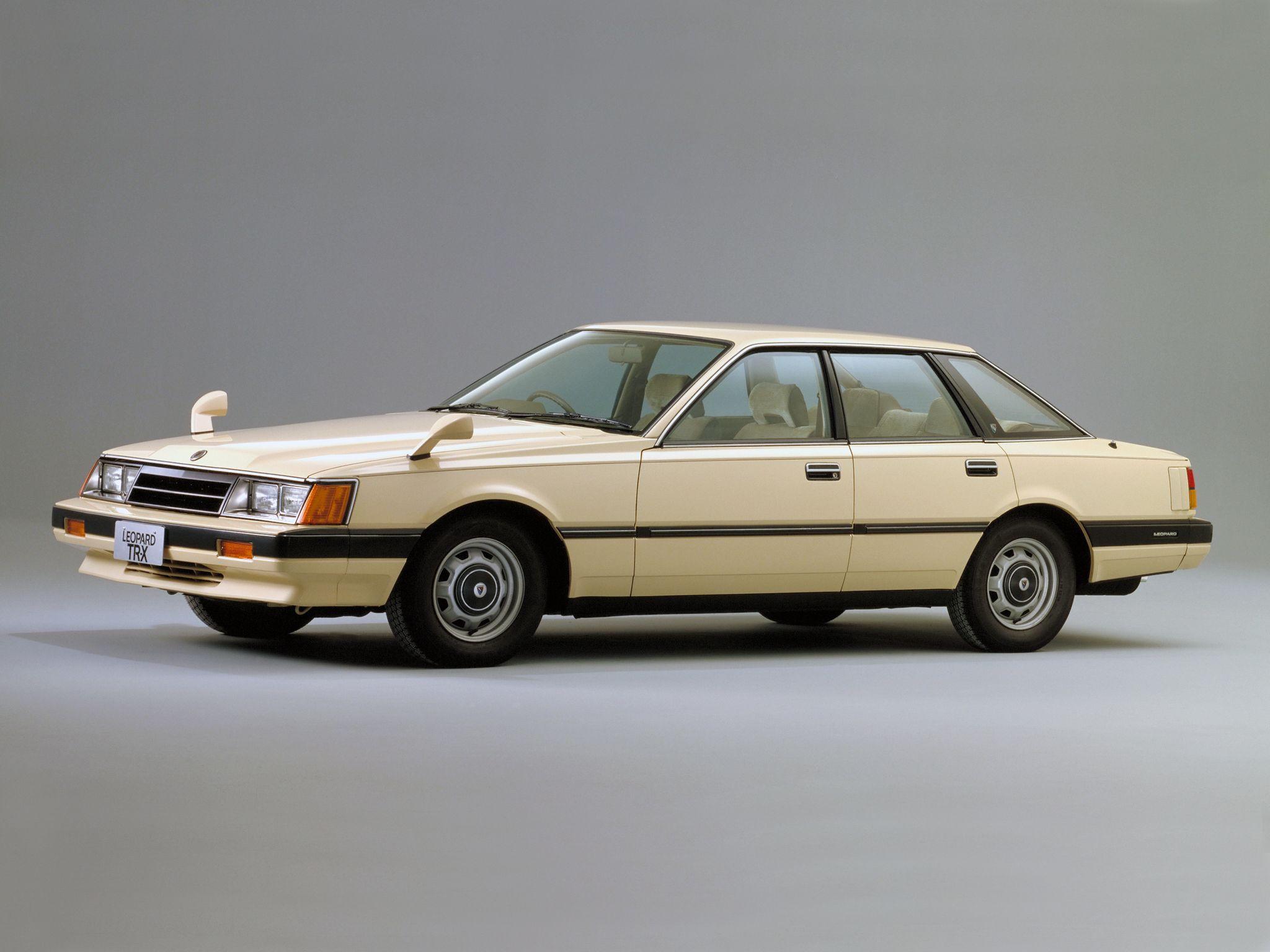 日産・レパード(F30)」10. 1980- 02. 1986