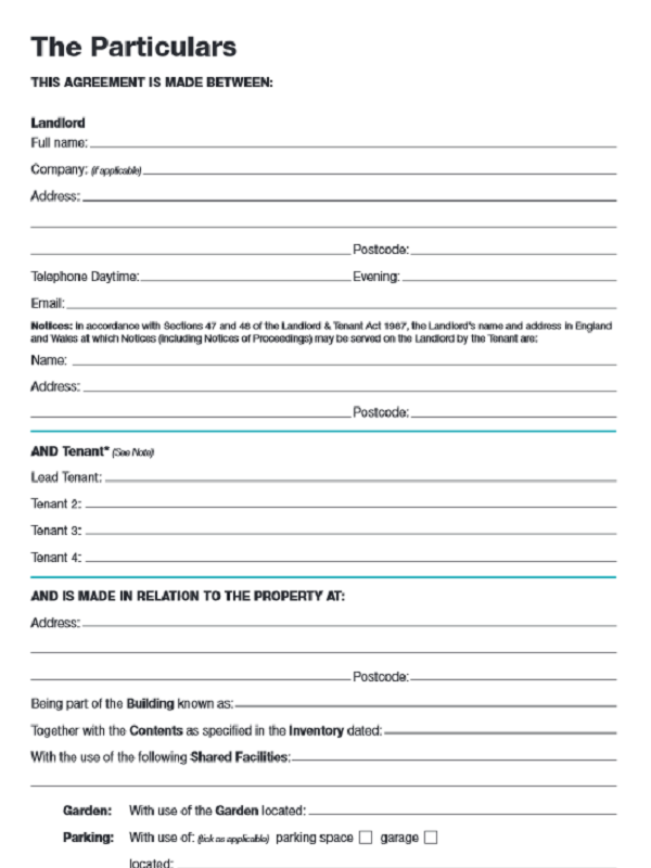 Free Tenancy Agreement Template Pdf Tenancy Agreement