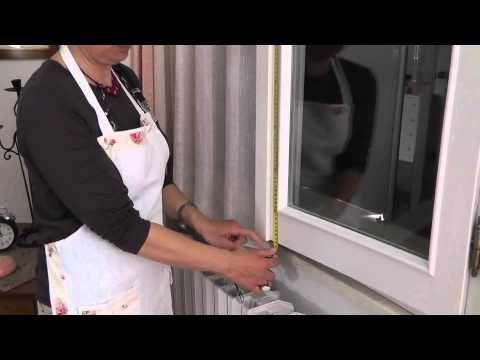 Come misurare le finestre per le tende a vetro. Veli & Arredi ...