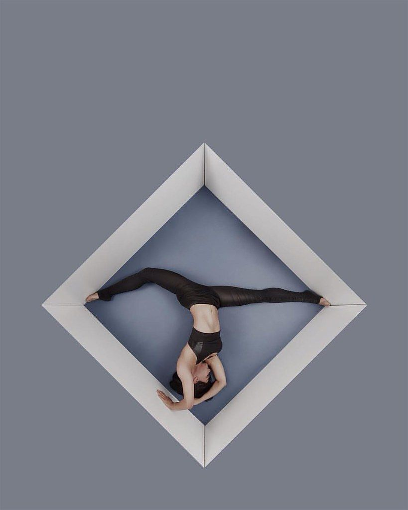 Theorem by R McCormick  Model: @lakotaelise  #themorem #geometry #circus #model #art #fitness #londo...