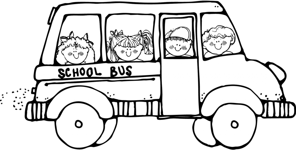 school bus coloring page | Coloring Pages | Ideas for the House ...