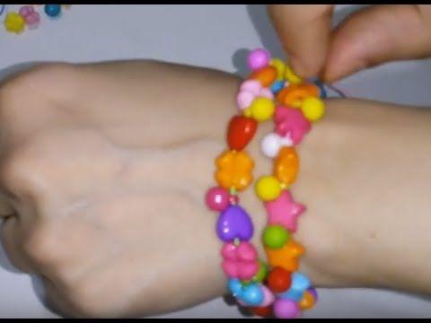 العاب الخرز العاب بنات طريقة عمل إسورة و عقد من الخرز Beaded Bracelets Lokai Bracelet Live Lokai Bracelet