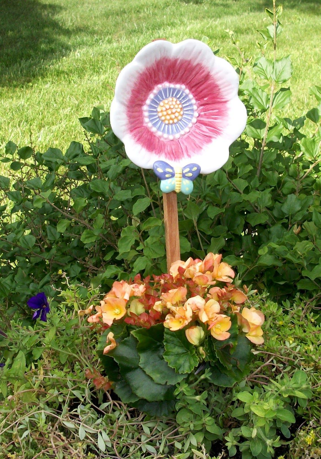 glass totem birdbaths - Google Search