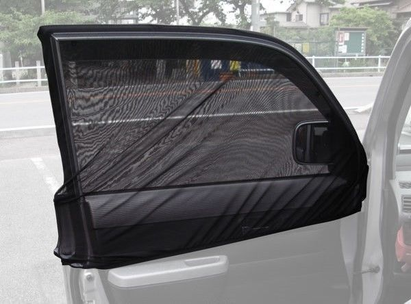 Details About Anti Insect Mosquito Bug Window Net Car