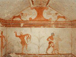 tumba de la Danza Dionisíaca