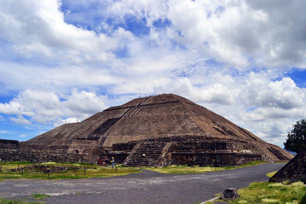 Pyramiden Von Teotihuacán