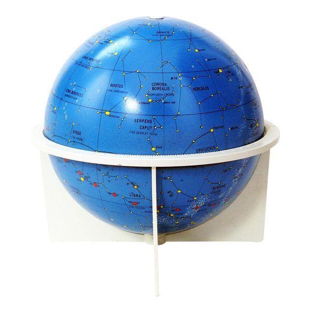 Image of Vintage Tin Replogle Celestial Globe