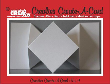 New Create-A-Card dies from Crealies now available at Crafts U Love http://www.craftsulove.co.uk/crealies.htm