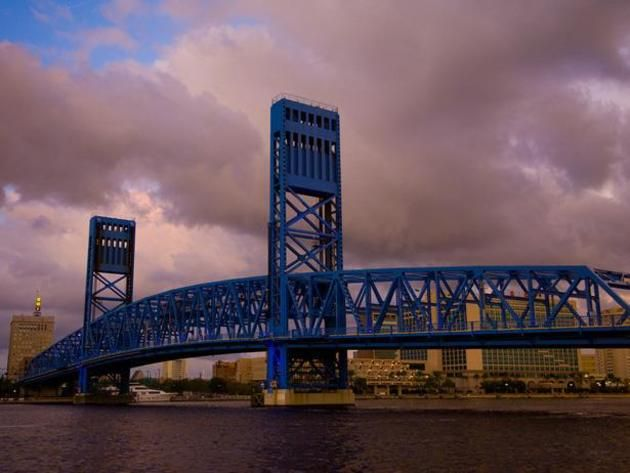 Jacksonville - Officially named the John T. Alsop Jr. Bridge, this bridge crossing the St. Johns River is one of downtown Jacksonville's most prominent landmarks.