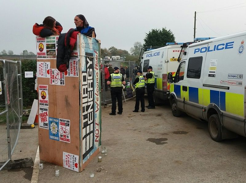Guilty verdicts in first Kirby Misperton 'fracking' trial