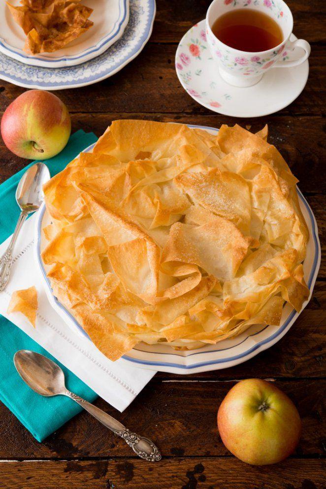 Croustade Aux Pommes Franzosisch Kochen By Aurelie Bastian