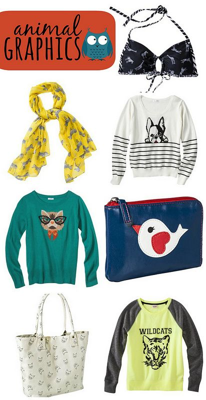 On Trend: Animal Graphics   Style On Target