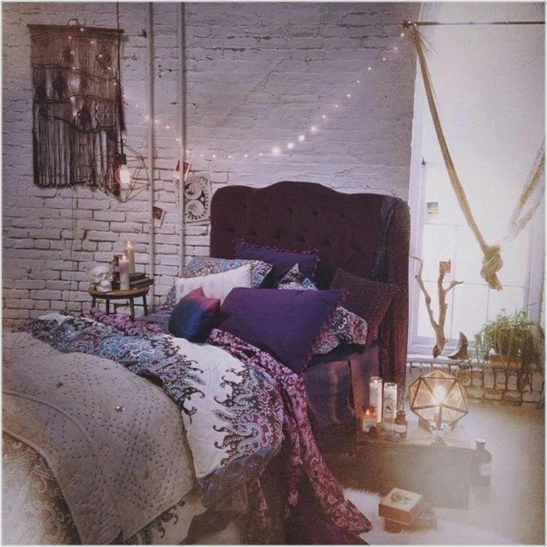 COZY BOHO CHIC BEDROOM DECOR IDEAS #bohobedroomideascozy Handy