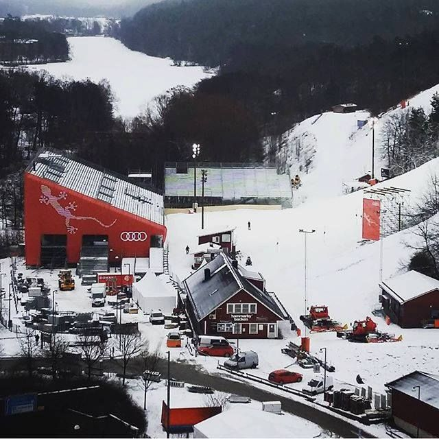 Hammarby Backen Is The Backyard Of The Park Inn Hammarby Sjostad It Is Also The Location For The 2016 Fis Alpine World Cup Hotel Stockholm Park Scenic Views