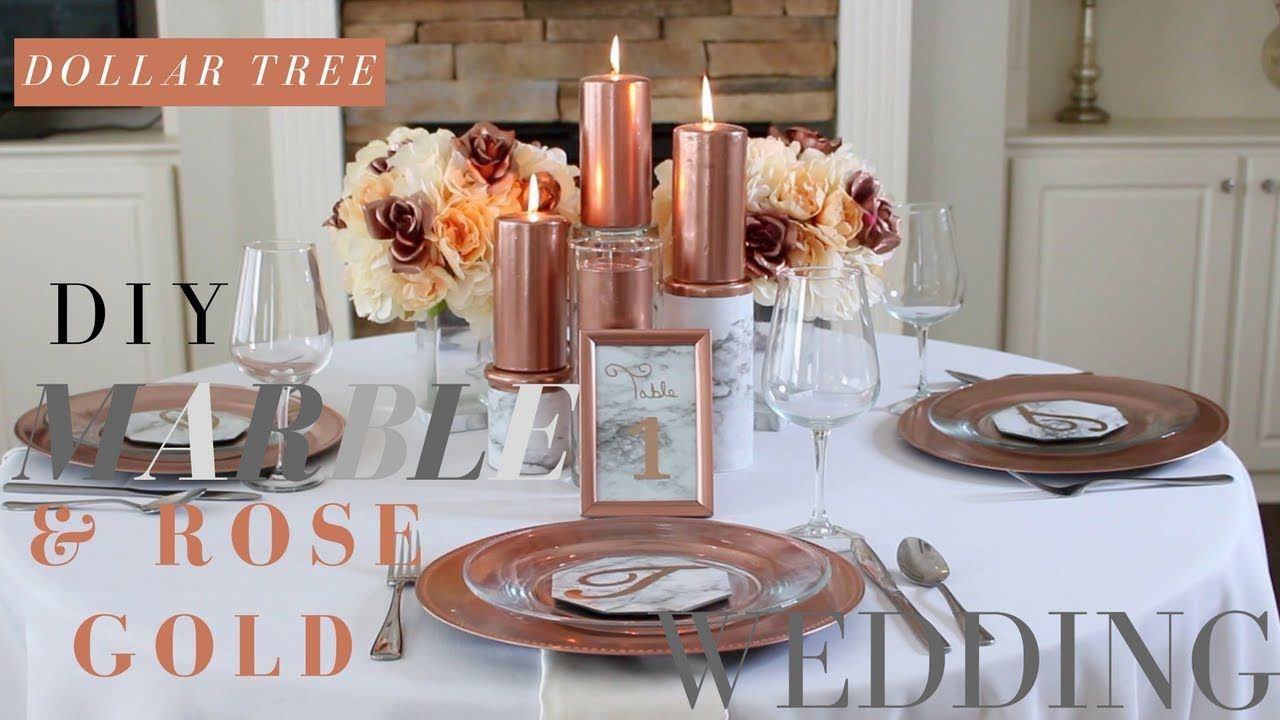 Dollar tree marble rose gold wedding diy marble rose gold in this video im going to show you how to make diy marble and rose gold wedding decorations with marble contact paper and rose gold spray paint junglespirit Choice Image