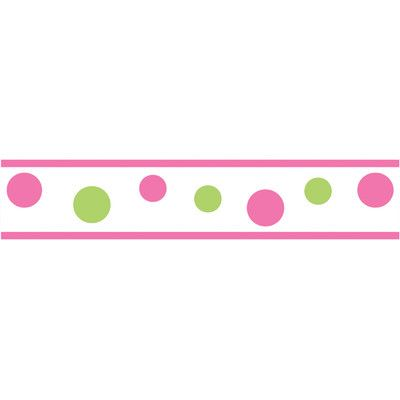 Pink Border Wall Decor Wayfair Pink Polka Dots Wallpaper Polka Dots Wallpaper Pink Baby Nursery