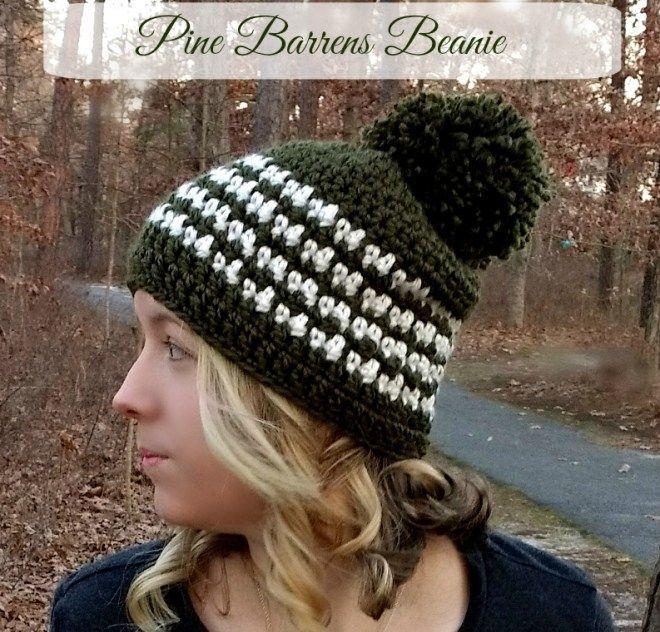 Pine Barrens Beanie | Cute Crochet Corner | Pinterest