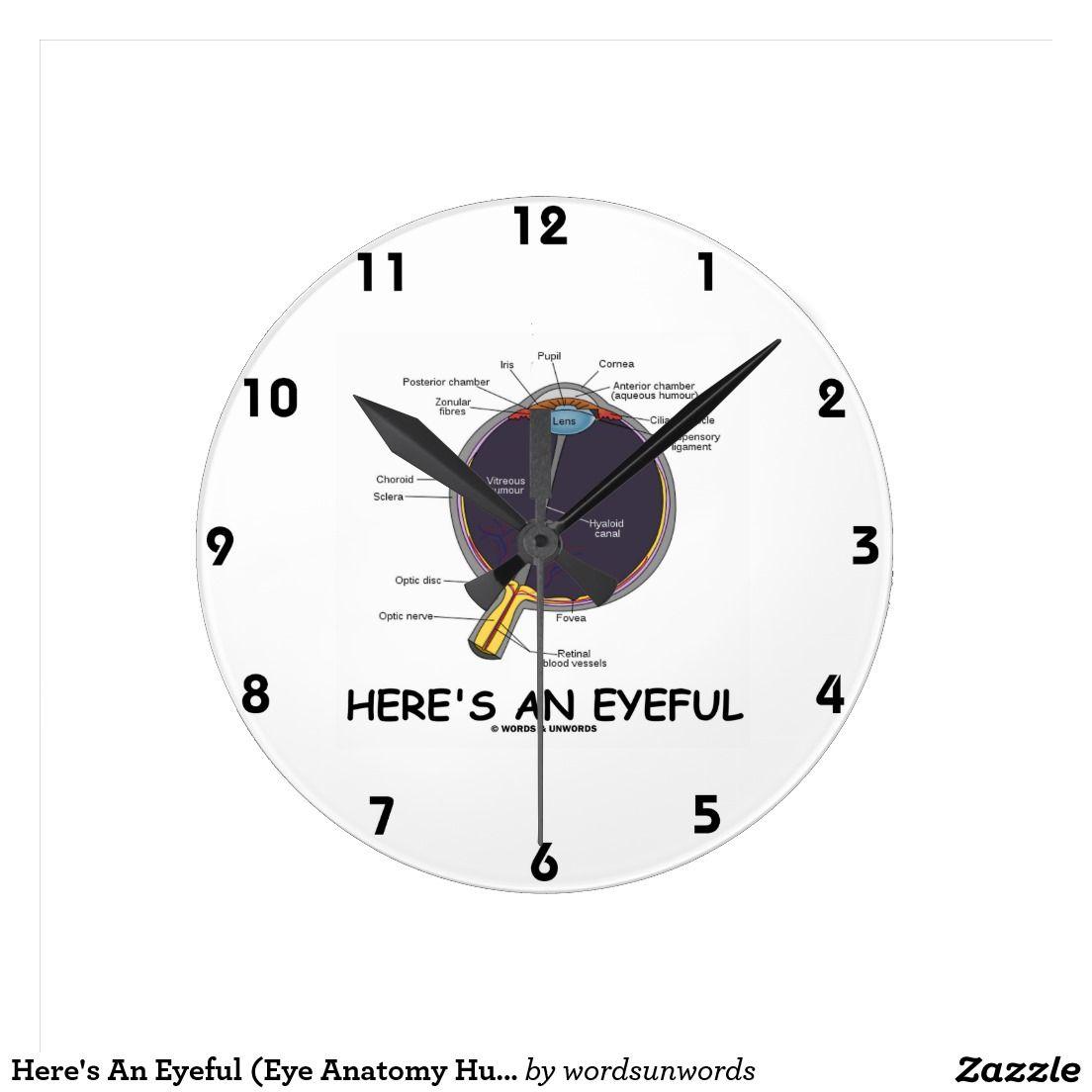 Aquí está un Eyeful (el humor de la anatomía del o Reloj Redondo ...