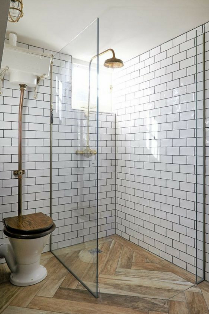 25 Awesome Farmhouse Bathroom Tile Shower Ideas Walk In Shower Room Floor Walls Bathroomremodel Wood Tile Bathroom Small Bathroom With Shower Shower Tile