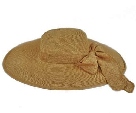 d9f7cc29a73db1 Pop Fashionwear Women Cool Summer Floppy Wide Brim Straw Hat with Ribbon  964SH