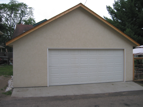 St Paul Stucco Garage Garage Builders Garage Design Garage Style