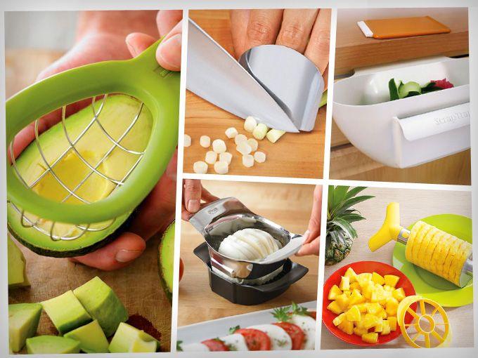 Asombrosos utensilios de cocina los quiero todos for Utensilios de cocina casa joven