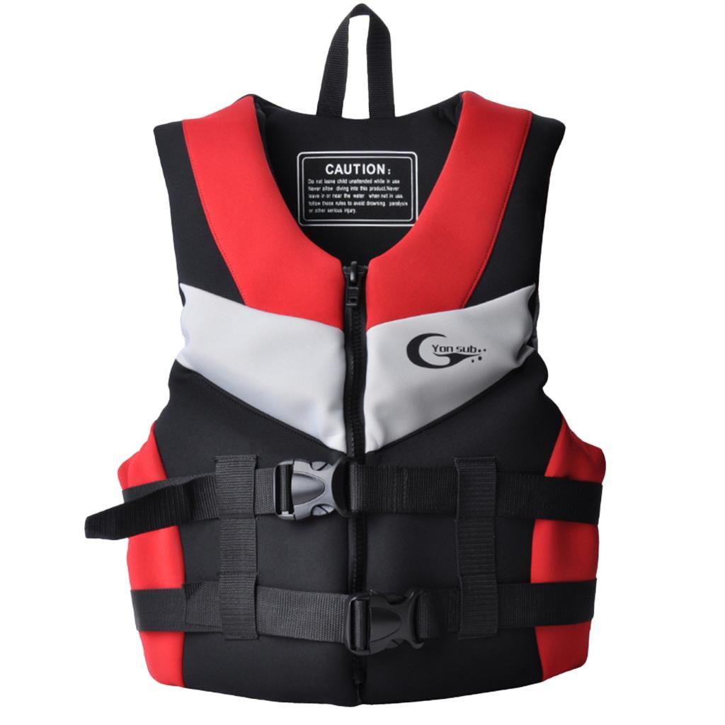 Suit Unisex Adult Kids Life Vest Surfing Kayak Jacket Swimming Floating Jacket