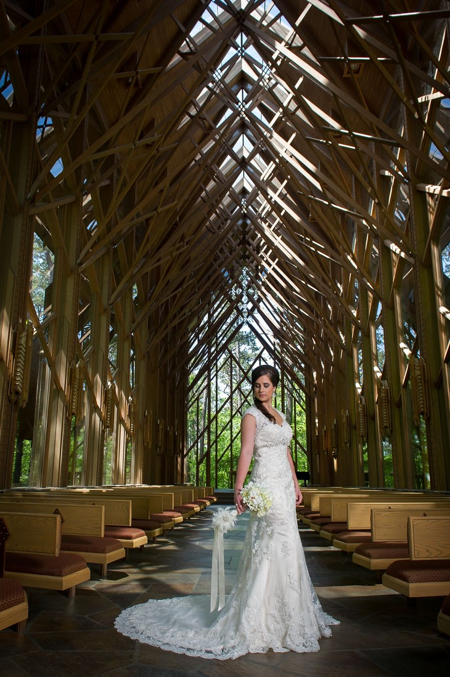 2017 Bridal Garvan Gardens Hot Springs Ar At The Anthony Chapel Wedding Jason Crader Photography Flowers Church