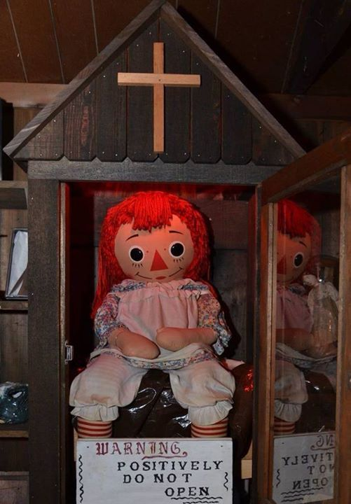 What It S Like To Meet Annabelle The Real Life Haunted Doll From