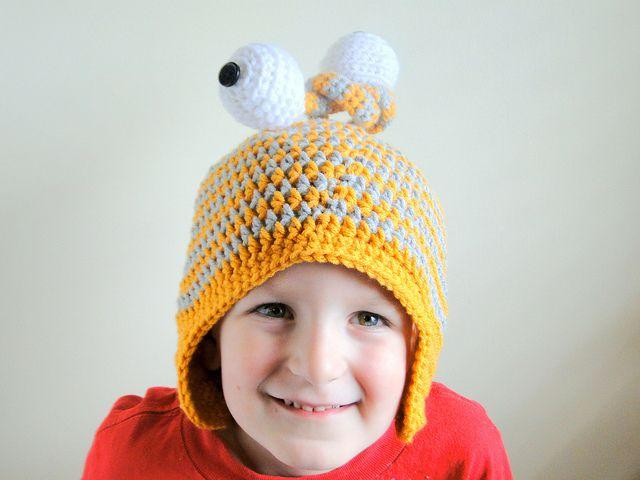 monster hat by caseyplusthree, via Flickr | Crochet headbands hats ...